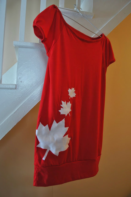 Canada Day Shirt Tutorial