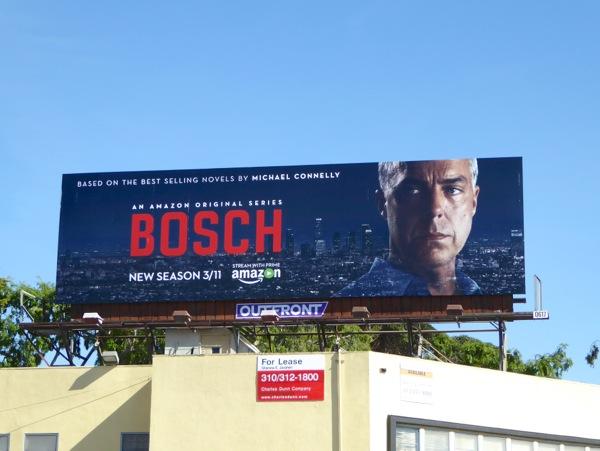 daily billboard bosch season two tv billboards. Black Bedroom Furniture Sets. Home Design Ideas