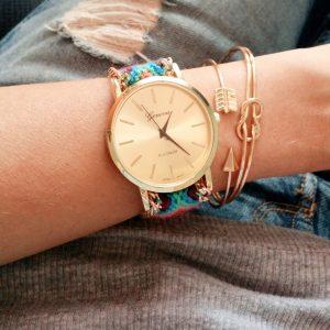 montre bracelet bresilien