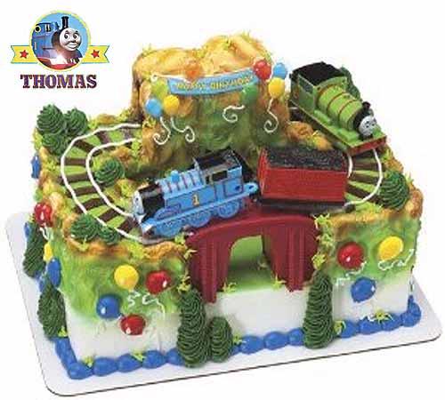 Percy Thomas The Train Cake Birthday Decorating Ideas For