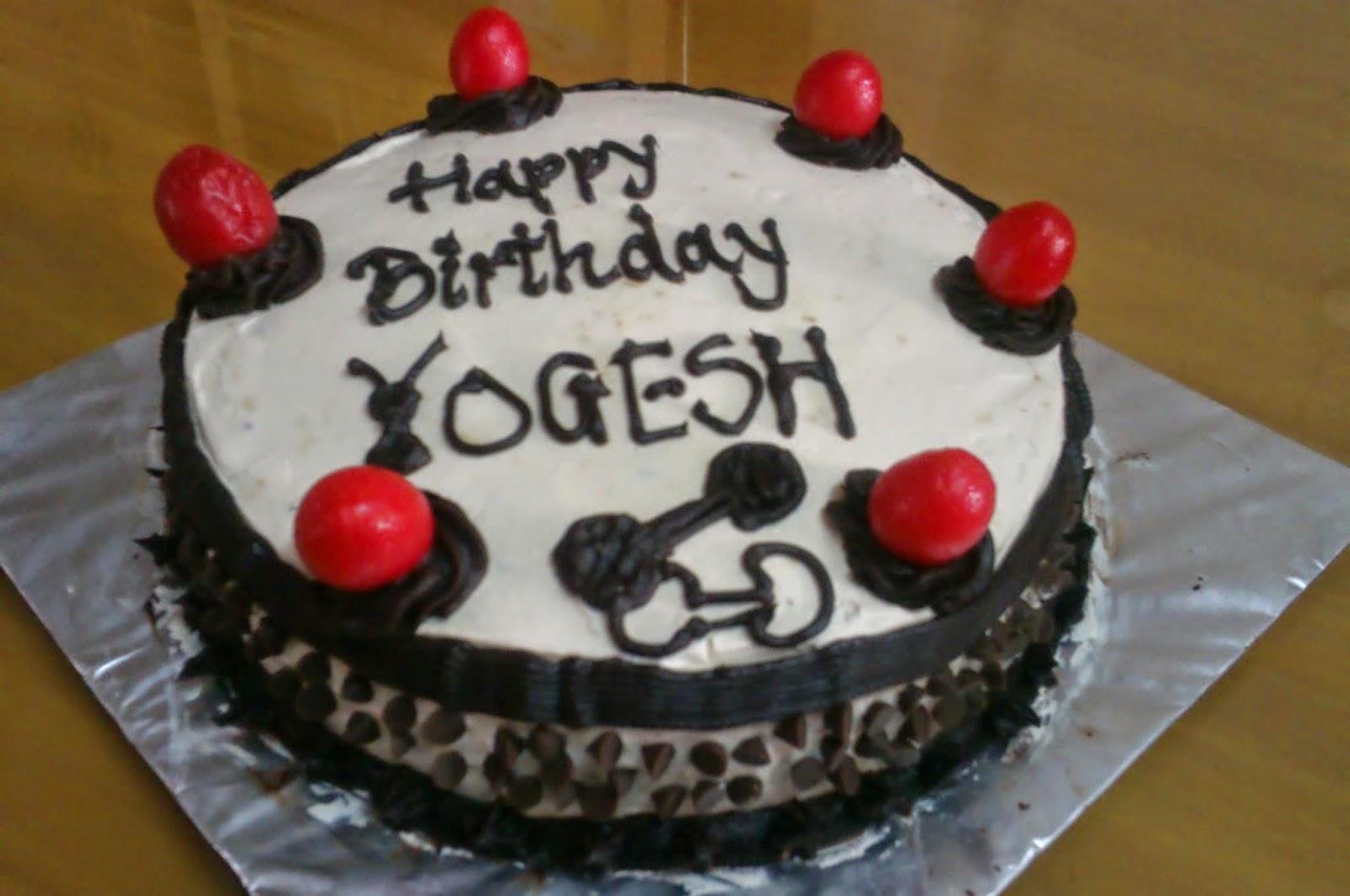 Birthday Cake Yogesh Fluffy Indulgence