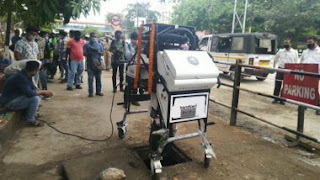 'BANDICOOT', First Manhole Cleaning Robot in Guwahati, Assam
