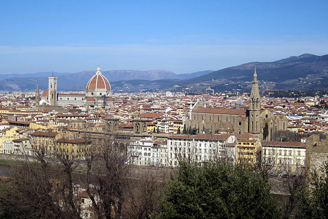 Gorgeous view of Florence