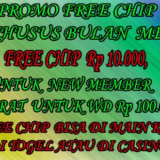 Promo Freechip Togel Online & Live Casino online