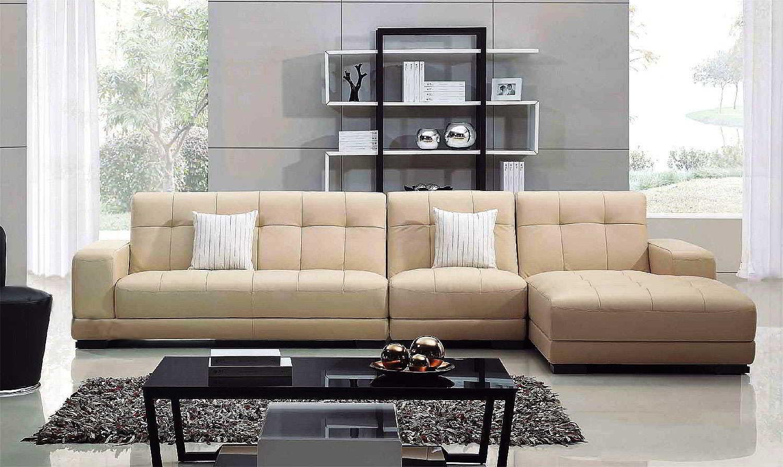 Sofa Kulit Minimalis Modern Untuk Ruang Tamu Kecil Sofa Kayu