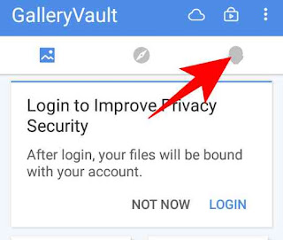 Gallery vault app me fake screen or password kaise banaye 3