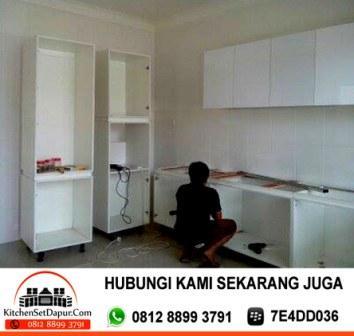 Jasa pembuatan kitchen set serpong hub 0812 8899 3791 for Tukang kitchen set