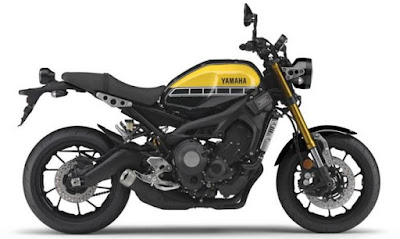 Yamaha XSR900 side view hd wallpaper