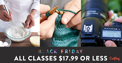 Craftsy Black Friday Sale