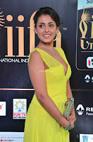 Madhu Shalini Looks Super Cute in Neon Green Deep Neck Dress at IIFA Utsavam Awards 2017  Day 2  Exclusive (8).JPG