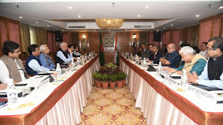 बांग्लादेश के प्रतिनिधिमण्डल ने सूचना एवं प्रसारण मंत्रालय के अधिकारियों से मुलाकात की