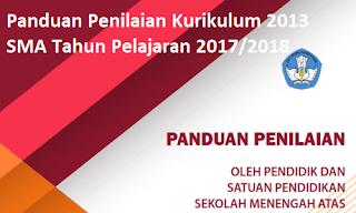 Panduan Penilaian Kurikulum 2013 SMA Tahun Pelajaran 2017/2018
