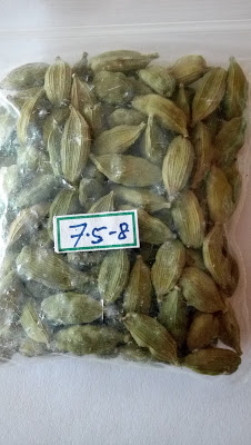 7.5 - 8 MM GREEN CARDAMOM MALVANIA INTERNATIONAL