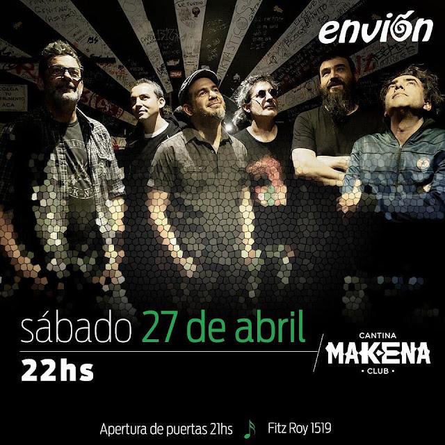 Envión vuelve a Makena con un show renovado y músicos invitados
