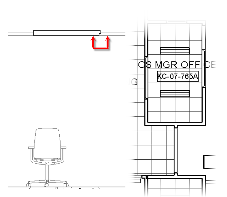HOK BIM Solutions: Recessed Lights in Ceiling Grids