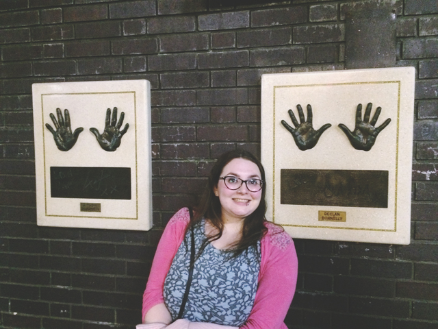 Ant and Dec hand prints ITV Studios