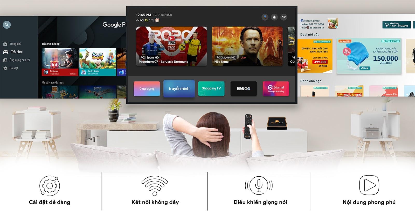 Chiếc TV Box chạy Android TV 10 đầu tiên tại Việt Nam