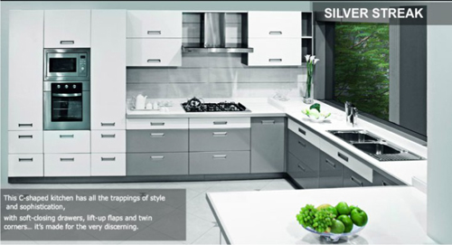 india art n design product hub sleek kitchens. Black Bedroom Furniture Sets. Home Design Ideas