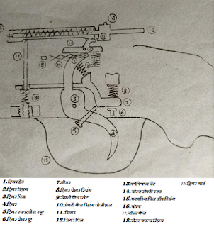 SSG-69 rifle trigger mechanism parts ka name