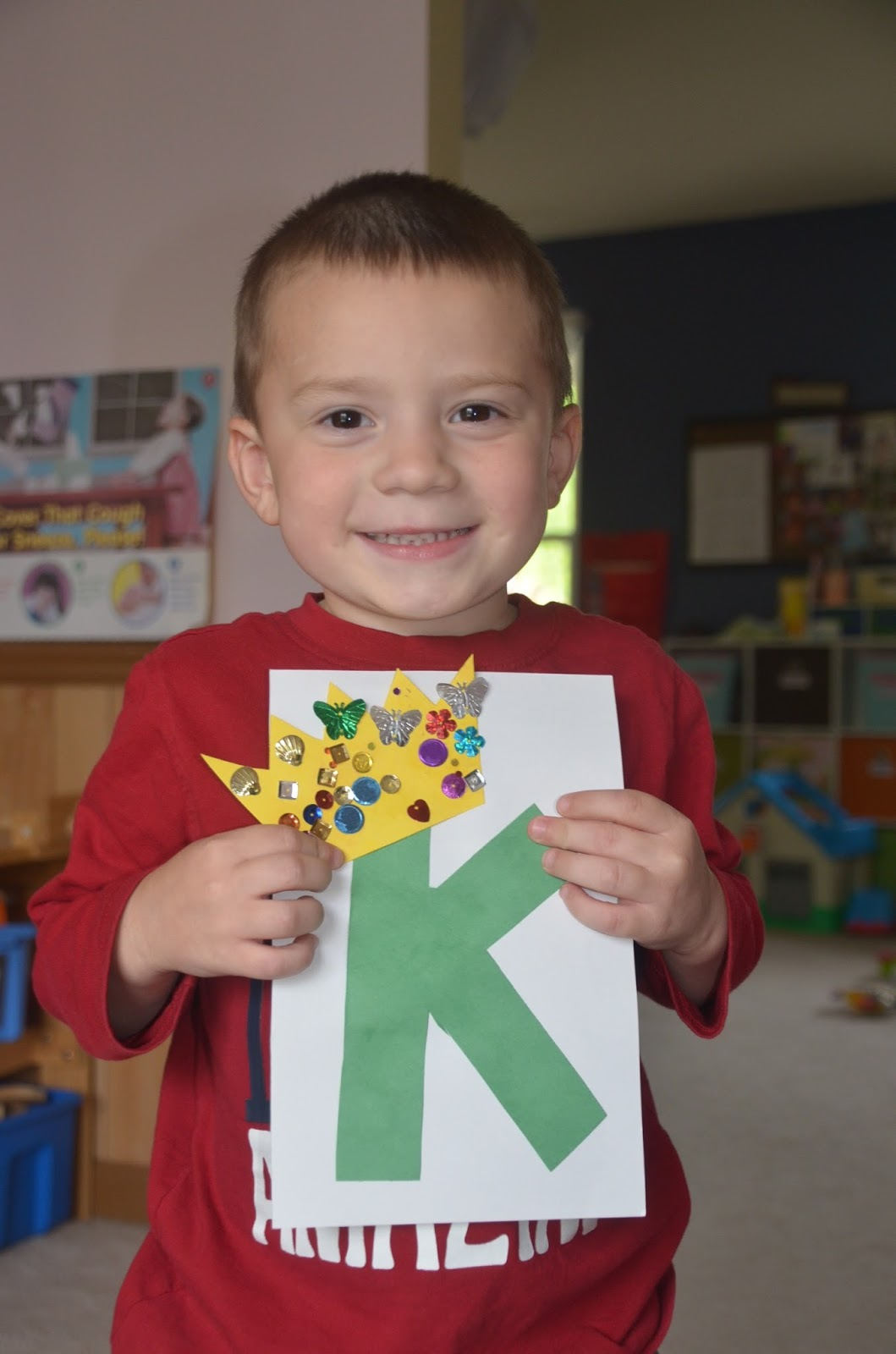 Aunt Tami S House Learning The Alphabet Letter K