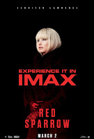 Red Sparrow Movie Poster 3