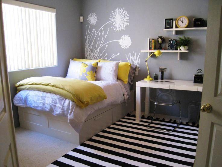 Interior Kamar Tidur Minimalis Ukuran 3x4