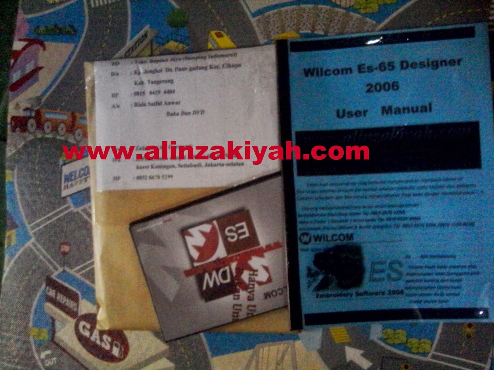 Paket belajar software wilcom