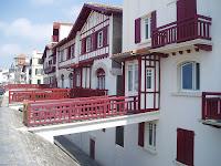 Casas vascas San Juan de luz