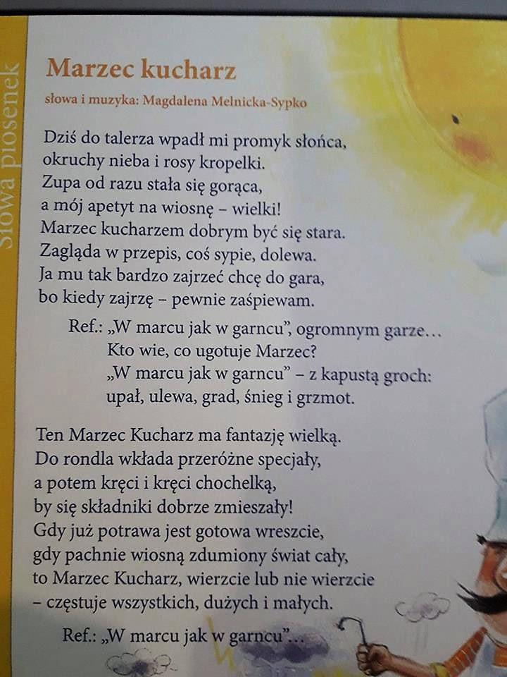Literatura Teksty Marzec Kucharz Magdalena Melnicka Sypko