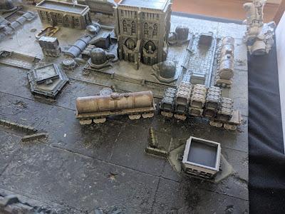 Campo de Batalla Adpetus Titanicus