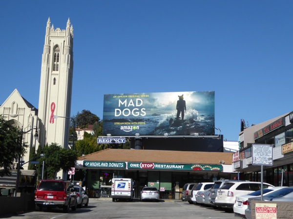 Mad Dogs Amazon remake billboard