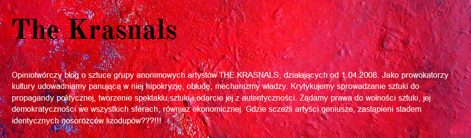 http://the-krasnals.blogspot.com/