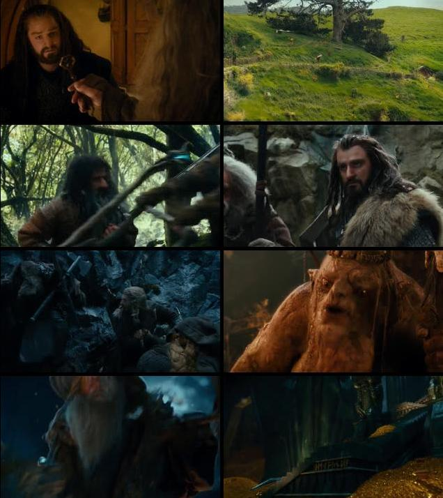 The Hobbit An Unexpected Journey 2012 Dual Audio Hindi 720p BluRay