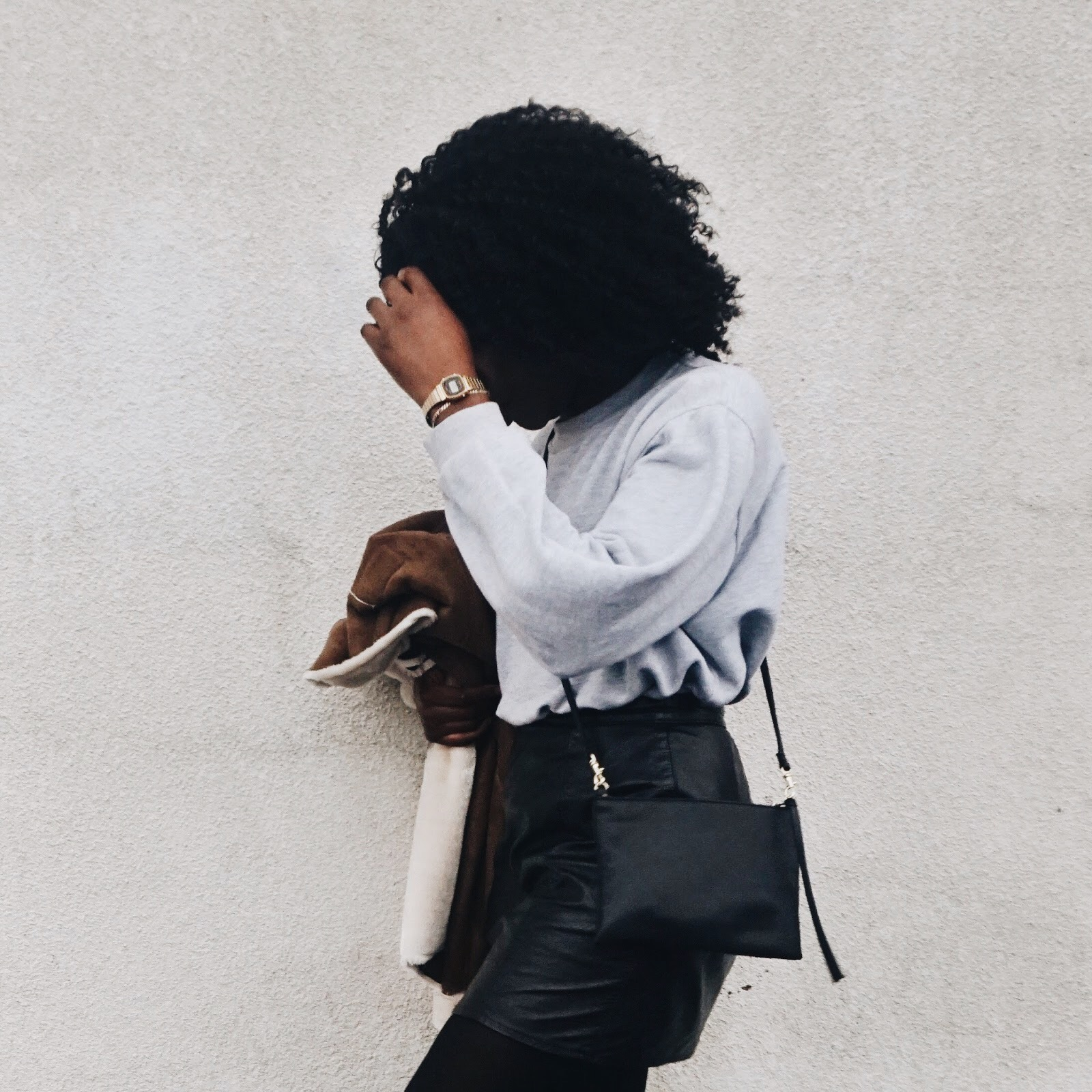 OOTD | SHEARLING COAT FOR A WINDY DAY