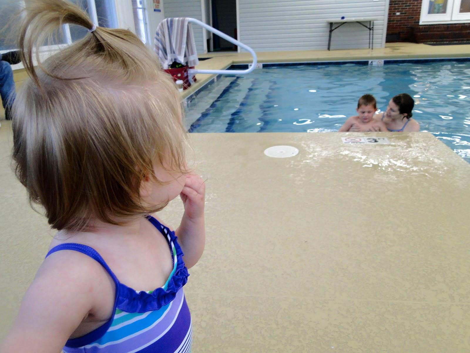Britt's Survival Swim at Tiny Bubbles!
