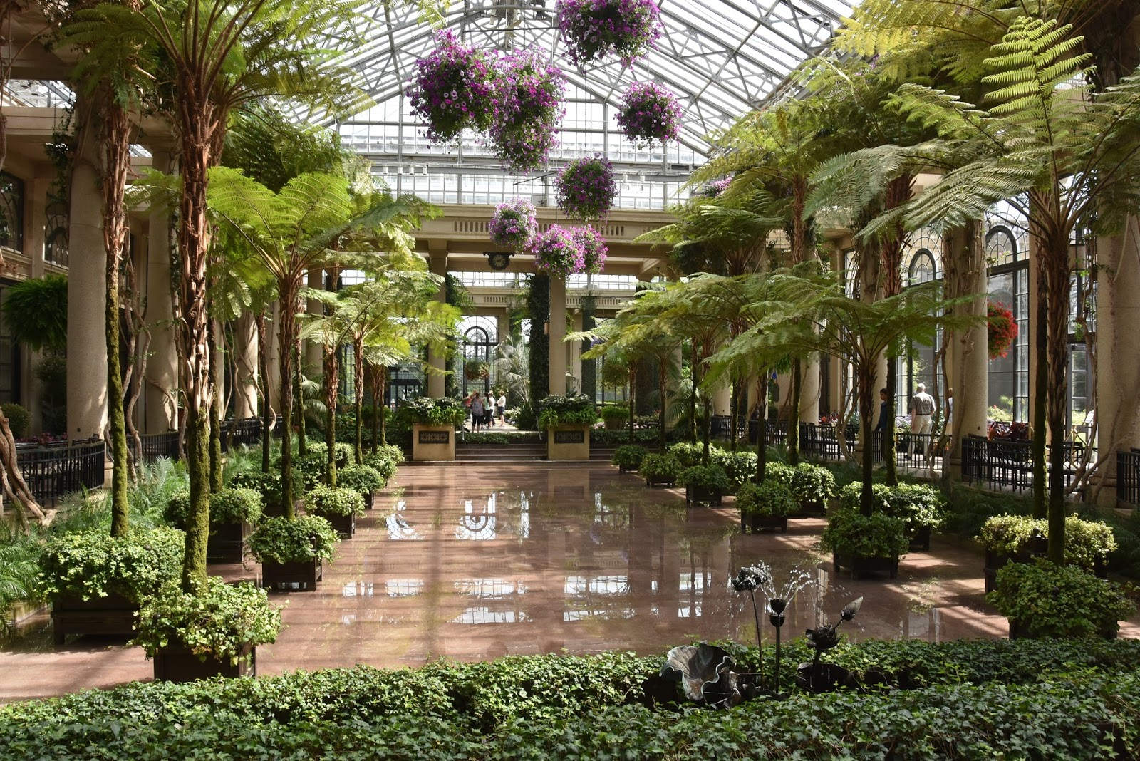 The Happy Wanderers: Day 46 -- All day at Longwood Gardens, Kennett ...