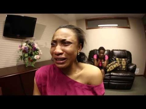 tonto dikeh crying