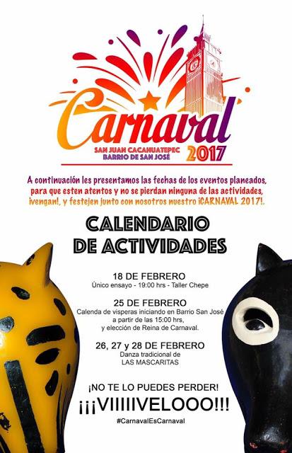 carnaval san juan cacahuatepec 2017