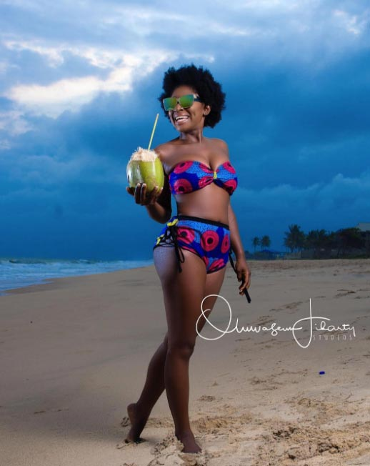 Actress Yvonne Jegede shares sexy photos to mark birthday