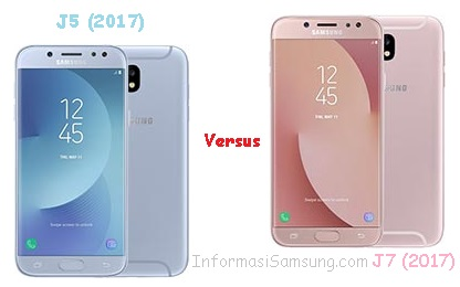 Perbandingan Samsung Galaxy J5 (2017) vs J7 (2017)