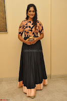 Sowmya Venugopal in Anarkali Dress at Kalamandir Foundation 7th anniversary Celebrations ~  Actress Galleries 016.JPG