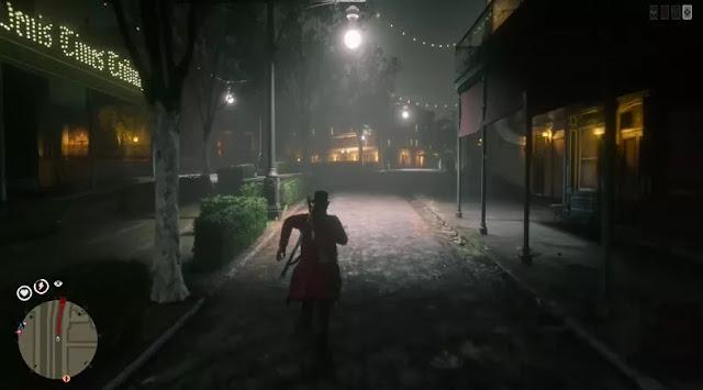 مشكل غريب يظهر داخل لعبة Red Dead Redemption 2 واختفاء جميع النماذج من عالم اللعبة
