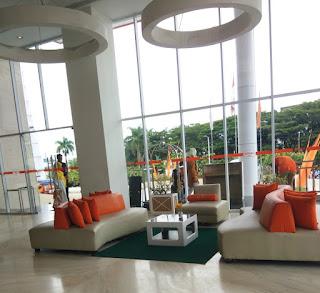 Lobby Hotel Haris Samarinda