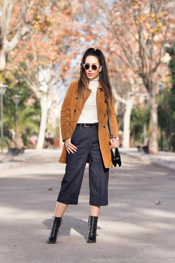 BLog de moda y belleza de Valencia con estilimos streetstyle con ideas para combinar los pantalones culottes