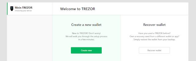 Aplikasi Firmware Wallet Trezor T