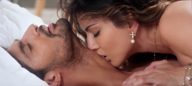 Sunny Leone and Tanuj Virwani in the movie One Night Stand.