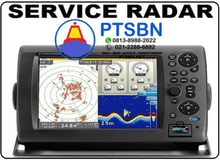 service radar kapal