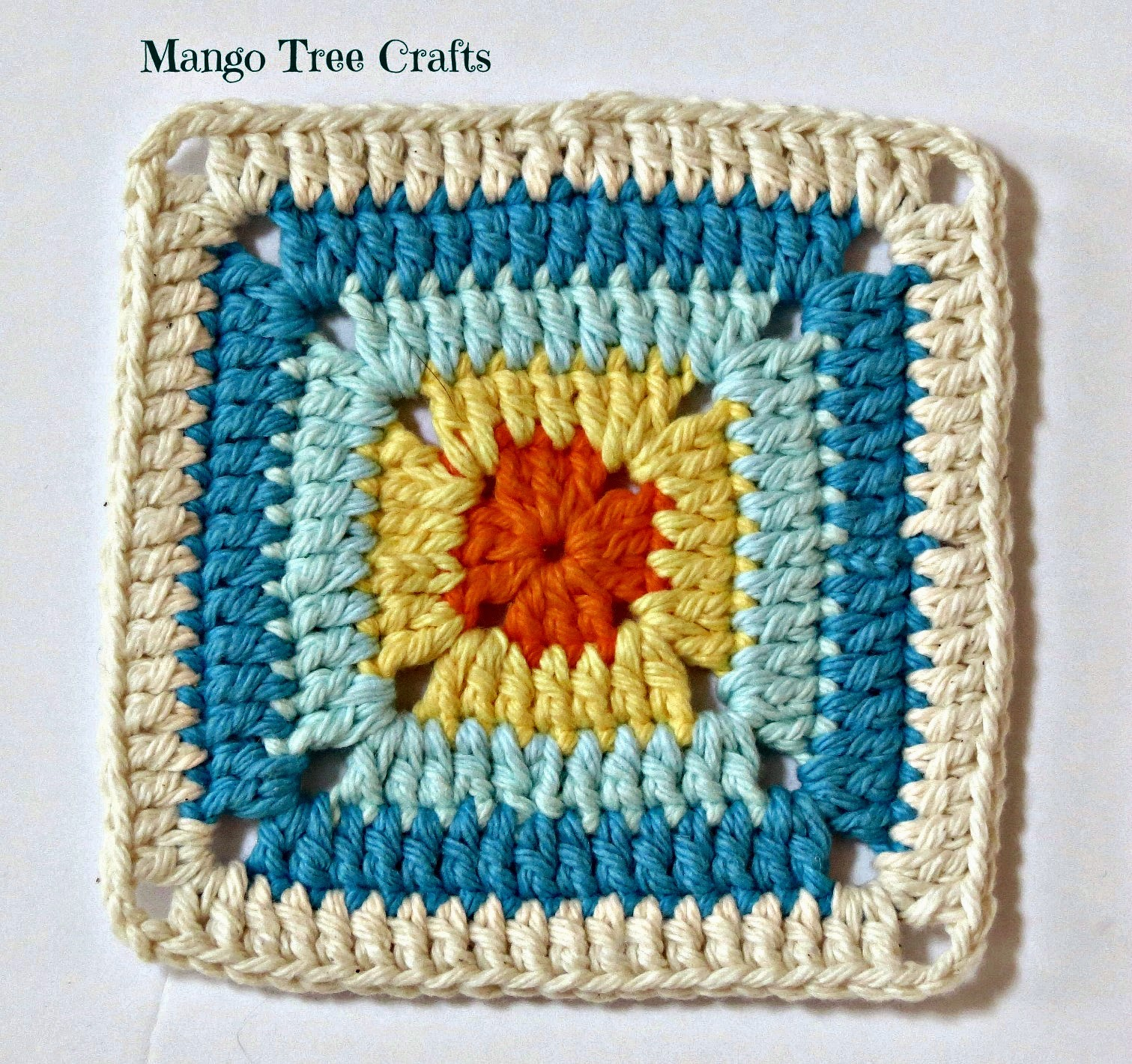 Free crochet square pattern