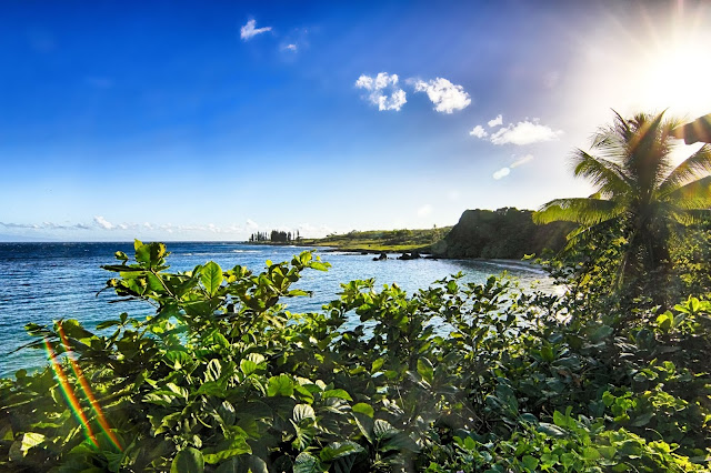 Honomanu Bay on Maui