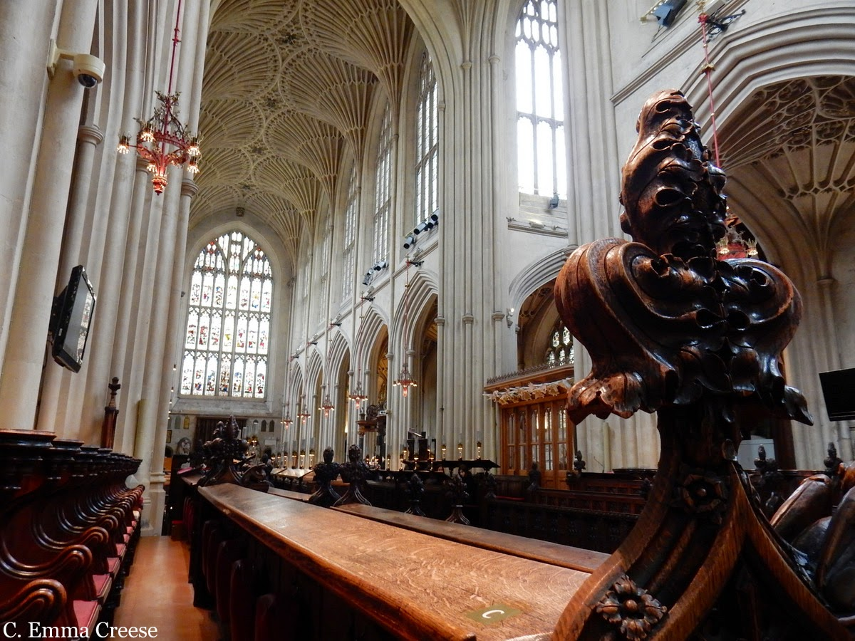 Bath Cathedral Adventures of a London Kiwi